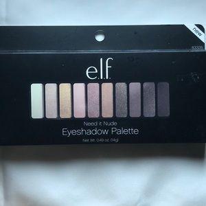 """ELF """"Need it Nude"""" Eyeshadow Palette"""